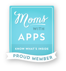 Moms with Apps - Know what's inside - Proud Member